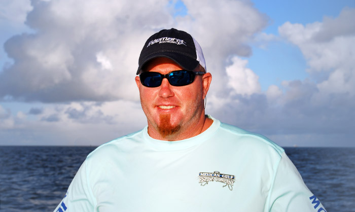 kevin beach photo. captain of the pale horse, mexican gulf fishing photo, venice, la