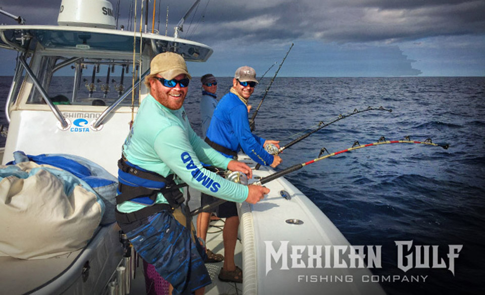 Offshore fishing charters venice la book now with mgfc for Tuna fishing venice la