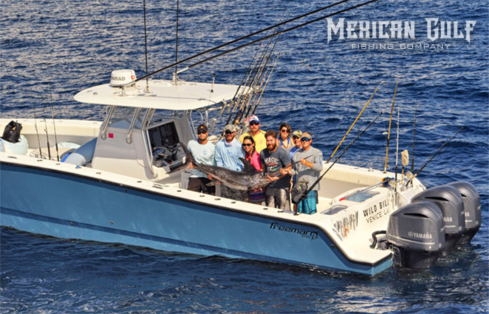 Offshore fishing charters in venice la bluewater with mgfc for Mexican gulf fishing company