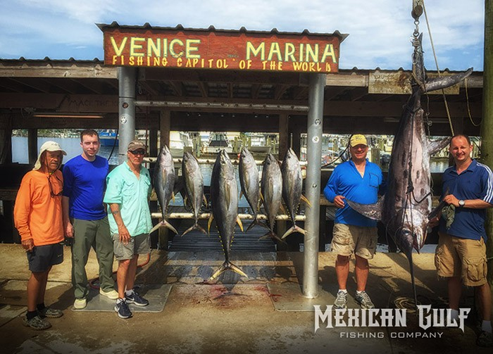 offshore fishing charters venice, la. Mexican Gulf Fishing Co. MGFC photo
