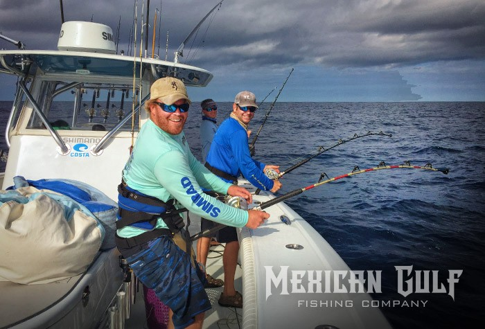 yellowfin tuna fishing charters in Louisiana with MGFC. Billy Wells MGFC photo