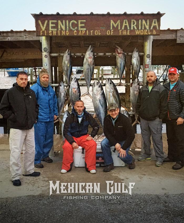 tuna fishing venice, la. First yellowfin tuna trip of 2016 for Capt,. Jordan Ellis