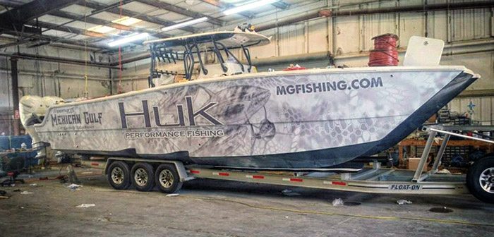37ft freeman f v freak show makes debut at mgfc for Mexican gulf fishing company