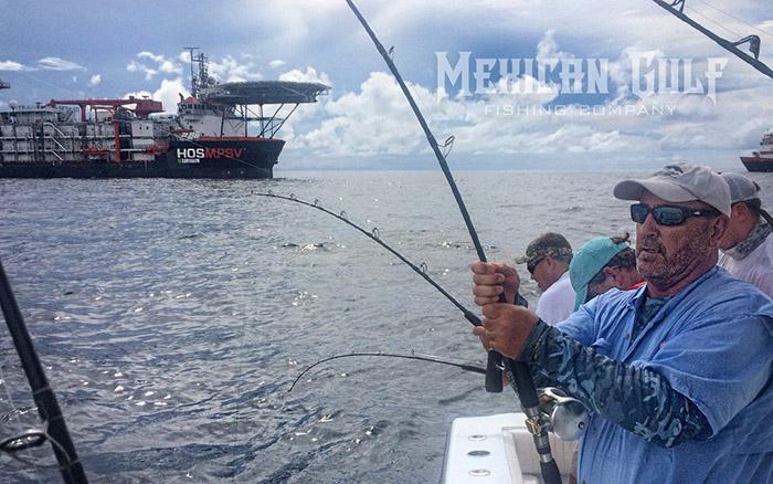 Summer in venice fishing offshore venice la for Fishing report mexico beach fl