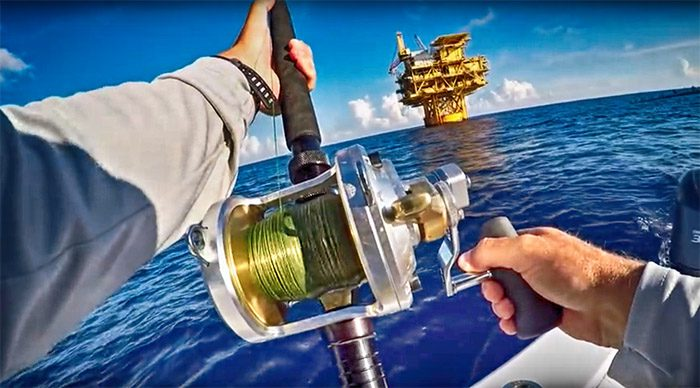 yellowfin tuna video clip. August, 2016 offshore fishing yellowfin tuna, MGFC.