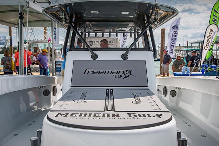 Freeman Boatworks - 42 foot freeman - Wild Bill, MGFC. Feb 2017