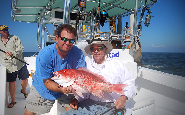 red snapper louisiana. photo of red snapper caught near venice, louisiana.
