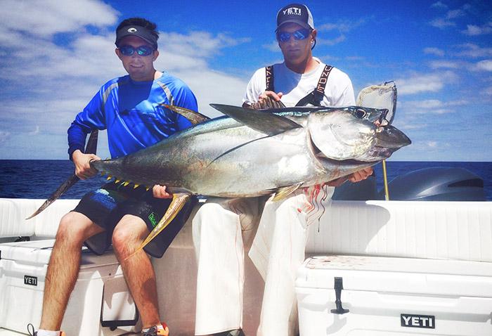 yellowfin tuna venice, la. MGfishing.com photo