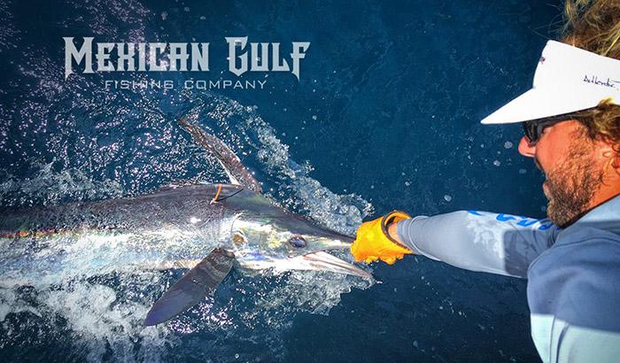 Parker Rodrigue Charter Captain. Offshore fishing Venice, LA. MGFC photo. Yellowfin tuna & more.