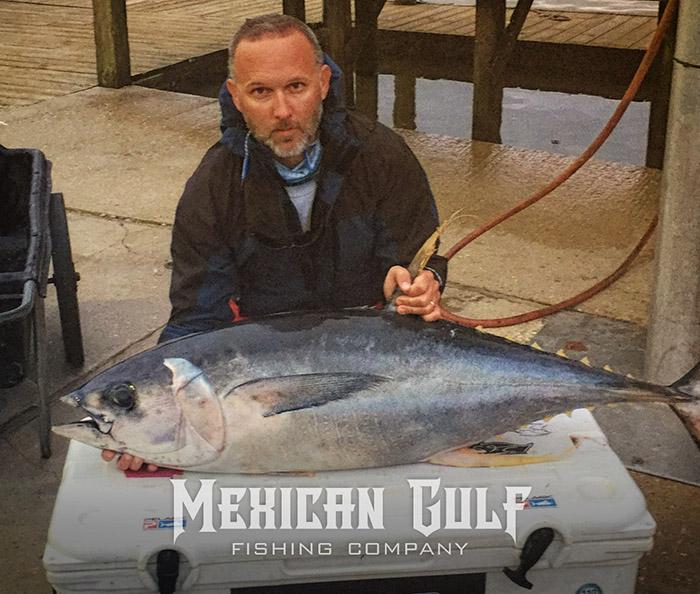 tuna fishing venice, la: first yellowfin tuna of 2016