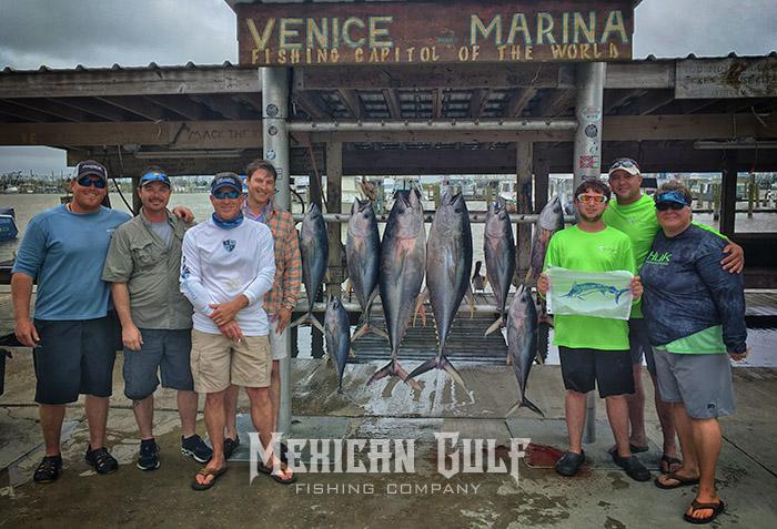 Kimmi makes maiden voyage from Venice Marina. Charter trip lands blue marlin and yellowfin tuna with Capt. Jordan Ellis.